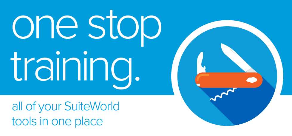 SuiteWorld Pre-Conference Training